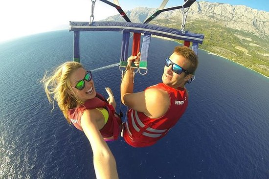 Fire Adventures: Parasailing...