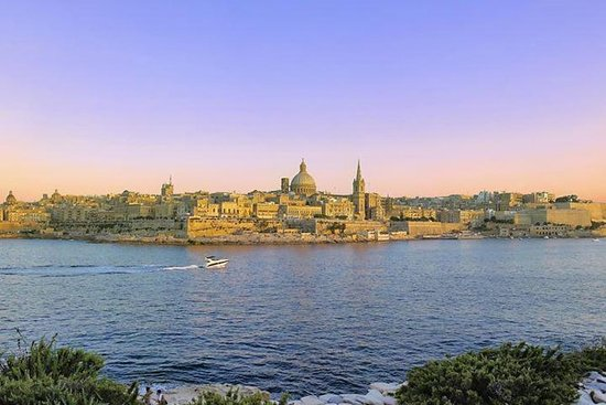 Valletta en de Three Cities Harbour ...