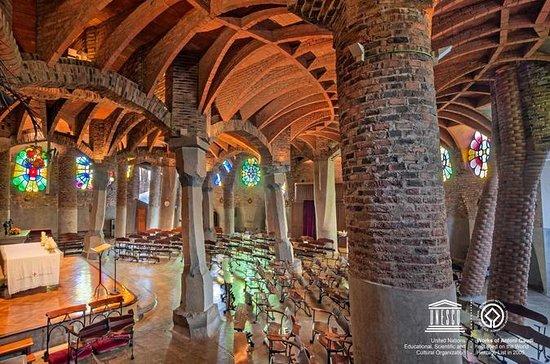 Colonia Güell and Gaudi Crypt...