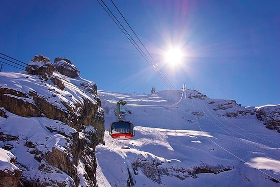 Mount Titlis Cable Car Billett i...