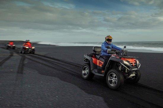 Quad Bike Tour på Black Lava Sands...