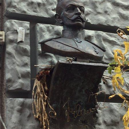 Memorial Plaque to A.A. Brusilov