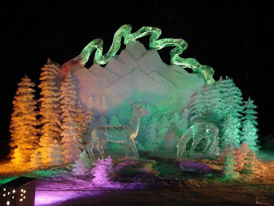 Ice Alaska Ice Park
