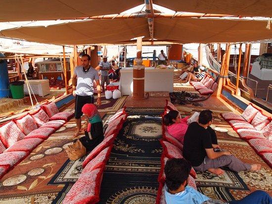 Dubai Desert Tours: Lower Deck