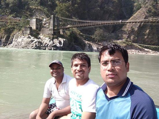 Rishikesh River Rafting: In rafting Time