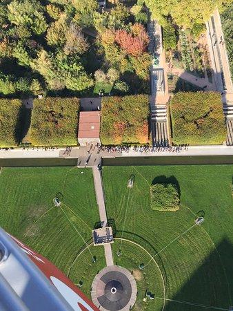 parc vu d'en haut