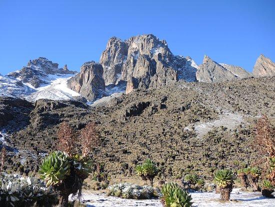 Mount Kenya: Shiptons, Mt Kenya