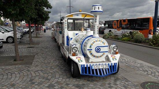 Tregunc, Francja: petit train de concarneau