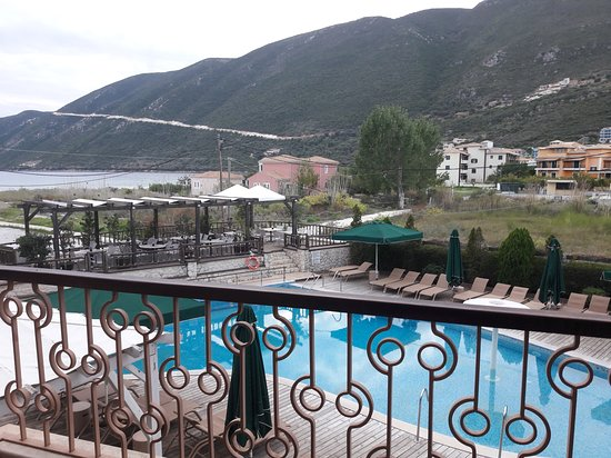 Enodia Hotel: View from the room.