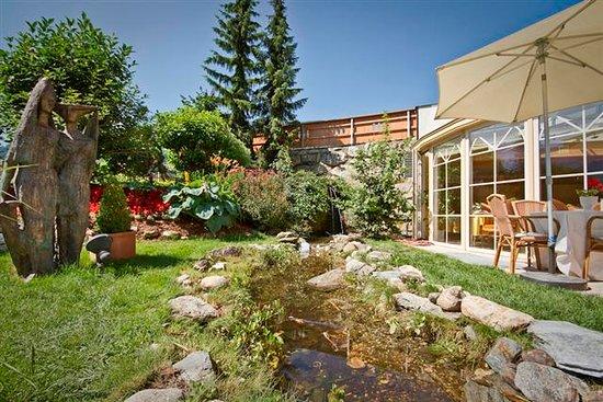 Ried im Zillertal, Österreich: Garten