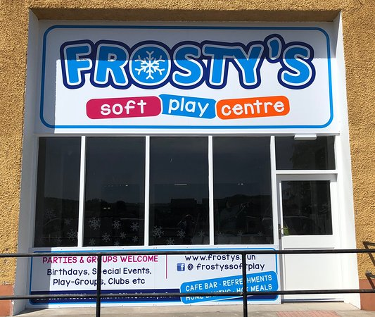 Forfar, UK: Our new frontage