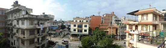 At Home Nepal Guest House: view from terrace