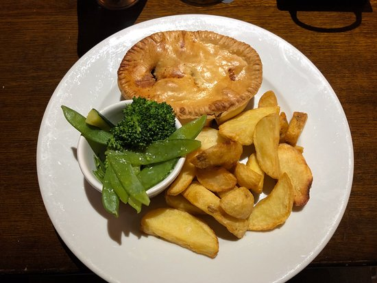 Strensall, UK: Steak Pie
