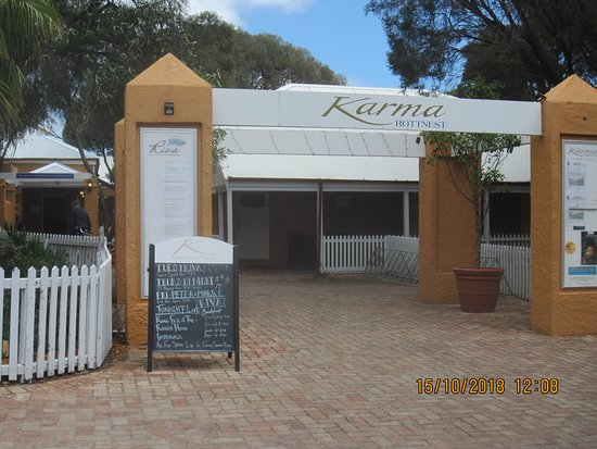 Karma Spa Rottnest Lodge: Main entrance