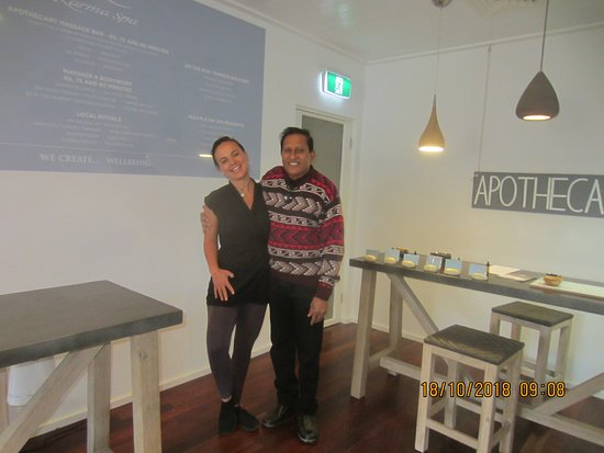 Karma Spa Rottnest Lodge: Very friendly & professional Kristal