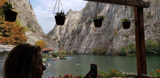 Dolna Matka, Republika Macedonii: matka kanyonu cafe makedonya