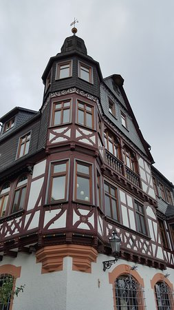 vakwerkhuis oude binnenstad Braunfels