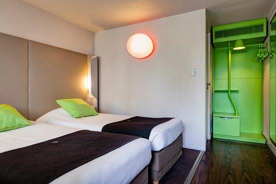 Hotel Campanile Creteil - Bonneuil Sur Marne: Chambre twin