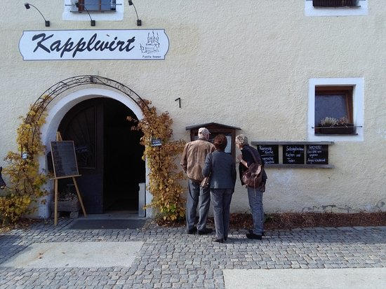 Waldsassen, Alemania: Eingang Kapplwirt