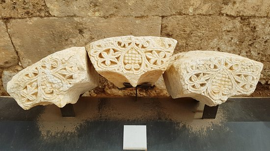 Anjar, Líbano: Decoration from the Small Palace
