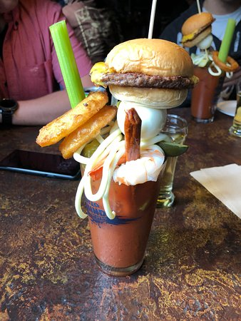 Kaukauna, Висконсин: Loaded Bloody Mary