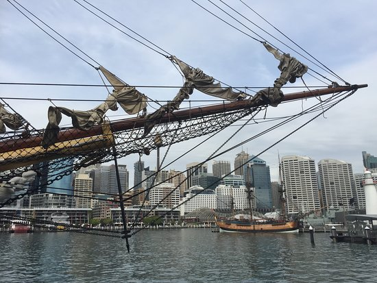 lots of history in the old sail ships
