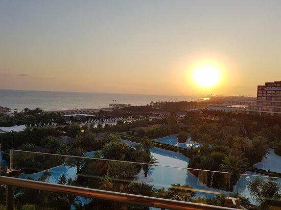 Maxx Royal Belek Golf Resort: Sunset