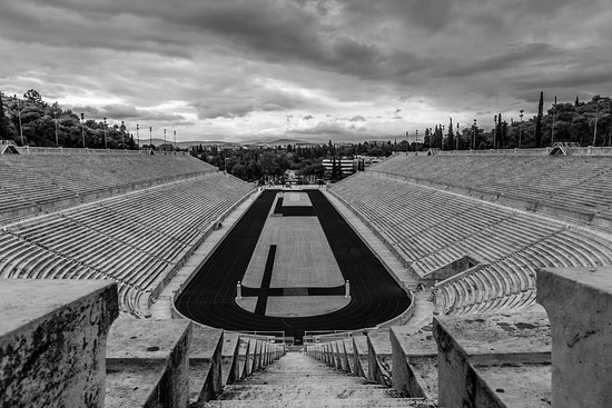Private Athens Walking Tour met een persoonlijke fotograaf: Olympic stadium built for the first modern day Olympic Games.