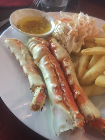 The Shack Bar And Grill: Alaskan king crab legs