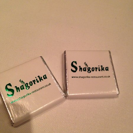 Shagorika: Chicken korma, pilau rice and naan bread