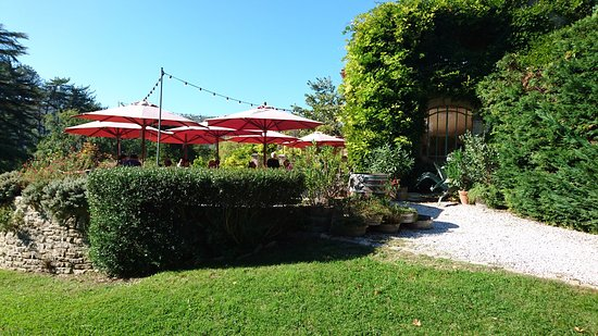 Lauret, França: la terrasse