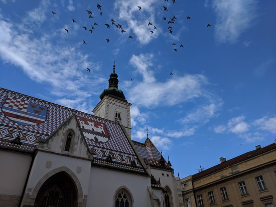 St. Marcuskerk (Crkva sv. Marka): The beautiful roof of St Mark's