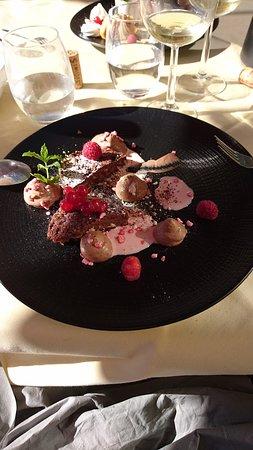 Lauret, França: dessert
