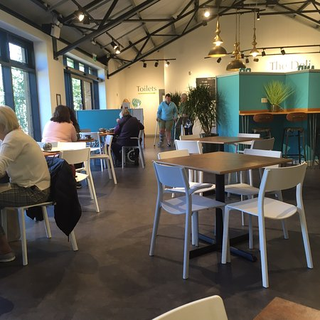 Visit to new restaura