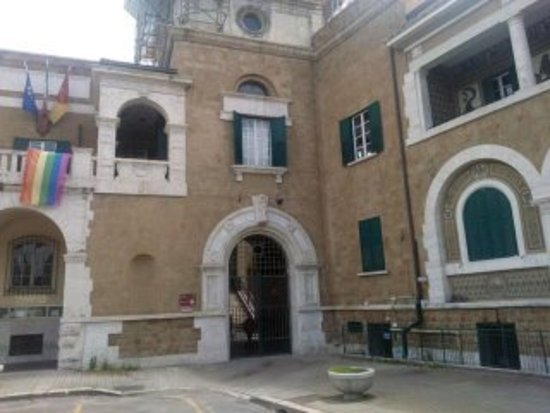Lido di Ostia, Olaszország: Ingresso del Palazzo