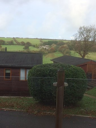 Camelford, UK: View from our balcony