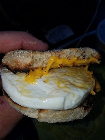 Watertown, WI: A new sandwich sensation... Egg McMuffin forget the canadian bacon