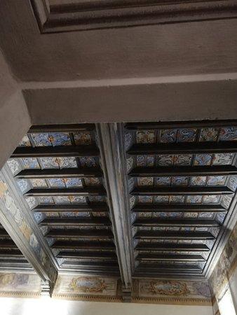 Rivalta di Torino, Ιταλία: Soffitto a cassettoni