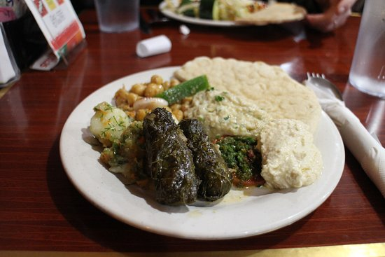 Coralville, Айова: Here's the very sad dolmas.