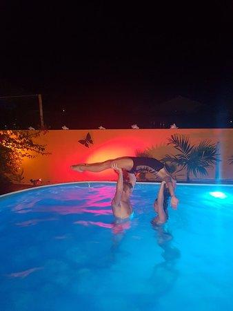 Bezoek aan onze dochter en zusje dat haar stage op Bonaire heeft.