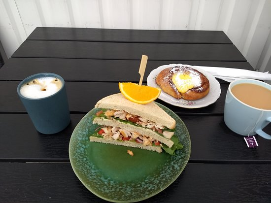 Our brunch spread (cost - 241 NOK)