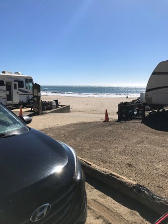 Gualala, Californie : This is the view from our campground spot. We loved it!