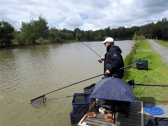 Dolton, UK: You can expect arm aching sport on the fabulous Woodpecker Lake.