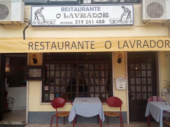 Restaurante O Lavrador: La entrada.