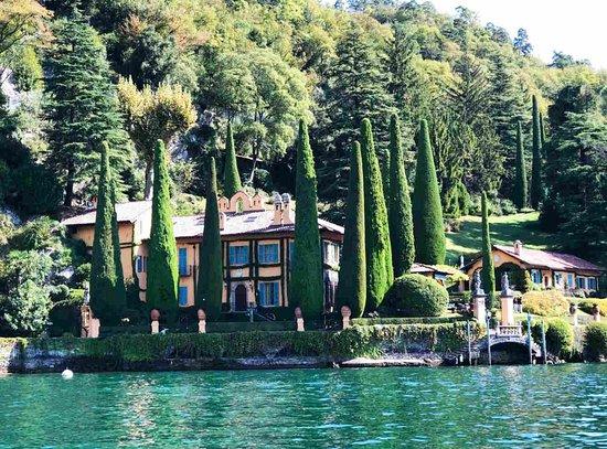 Boat Tour: Richard Branson's villa