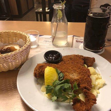 Ottimo tipico cibo bavarese