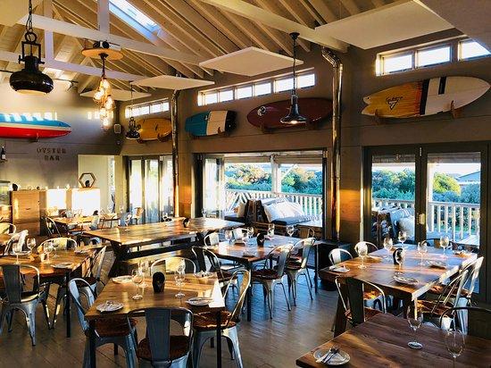 Scarborough, Südafrika: Restaurant interior