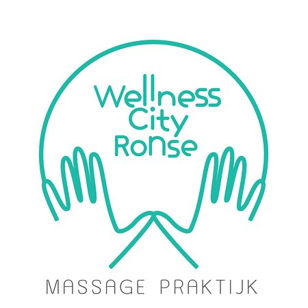 Ronse, België: our wellness city logo