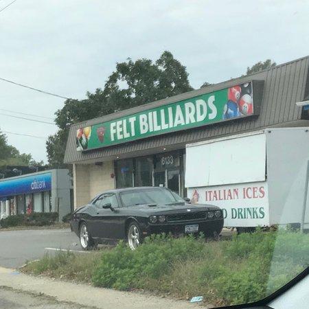 Felt Billiards