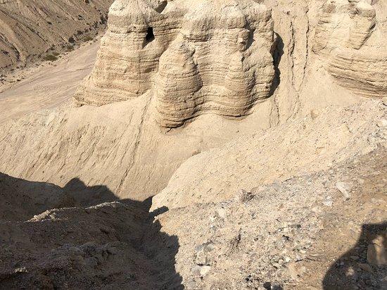 Kalia, Palästinensische Autonomiegebiete: the cave were the Dead Sea Scrolls were found